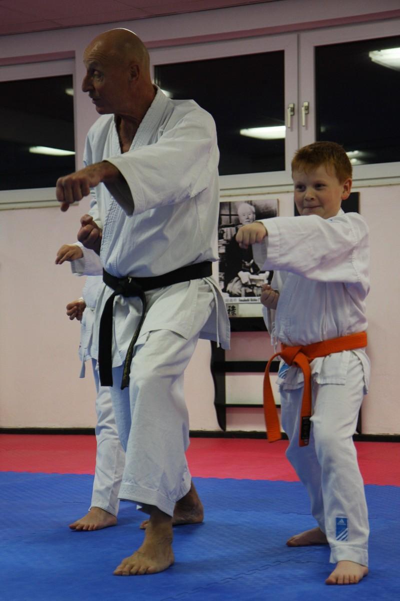 Karate Kindertraining