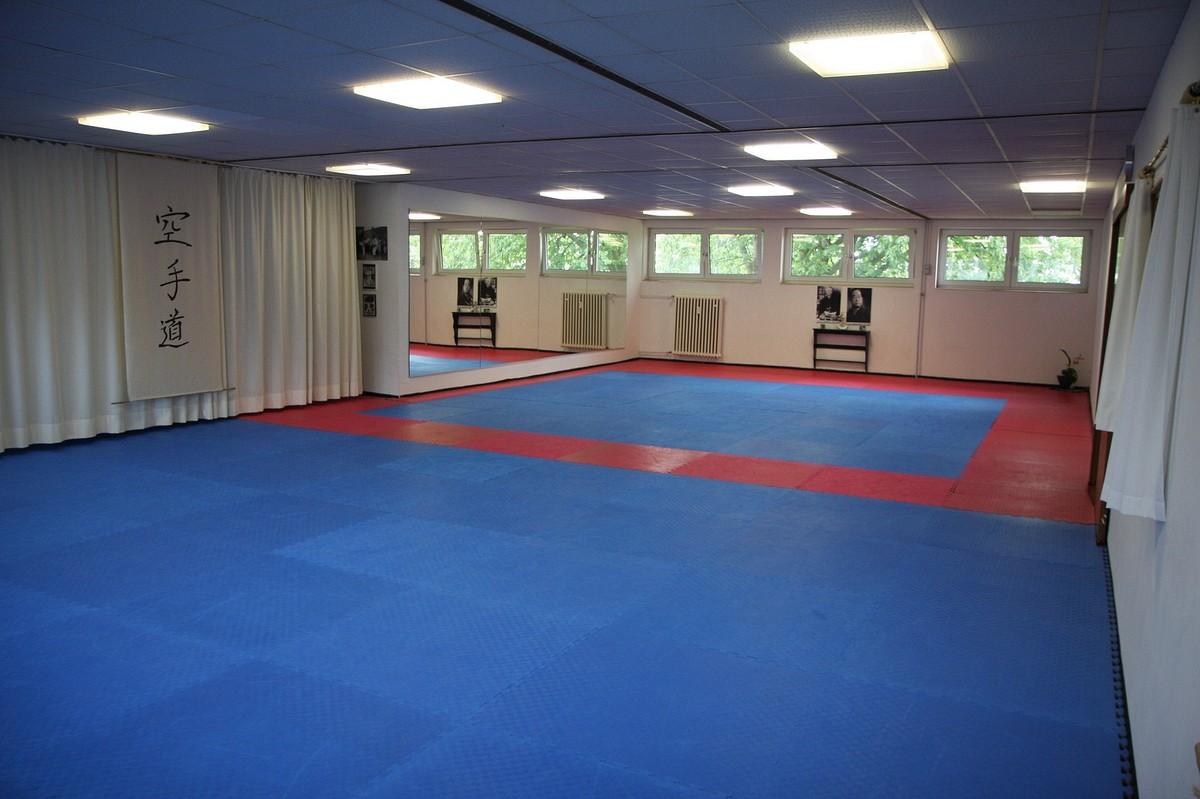 Der Karate Trainignsraum