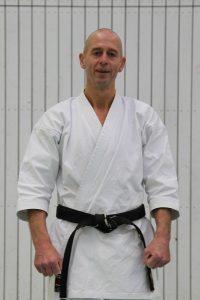 Günter Riemann (5. Dan - Karate seit 1990 - Architekt - geb. 1962)