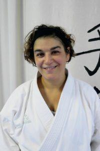 Maria Doumbaki (2. Dan - Karate seit 2002 - Heilpädagogin - geb. 1969)